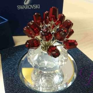 Swarovski Crystal : Love Red Rose Set