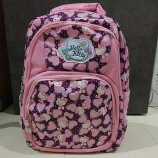 Hello Kitty Backpack school bag brand new