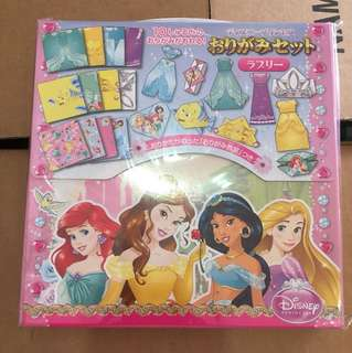 Disney Princess origami from Japan