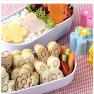 Little Bread / Cookies Cutter 3 pcs set - 8R