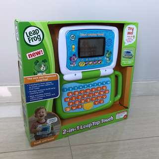 Free Delivery Brand New LeapFrog 2-in-1 LeapTop Touch