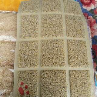Floor Mat/方磚形膠地毯(約40×60cm)