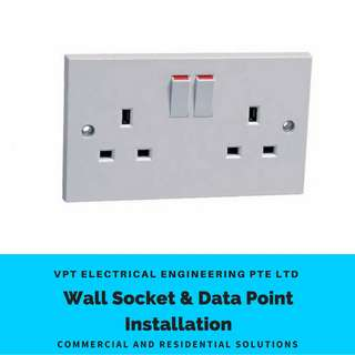 Power Socket Data POINT Installation