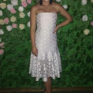 Lace spectrum dress
