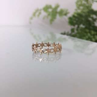 Sarah & Sebastian gold ring