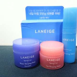Laneige Sleeping Care Kit 3 item