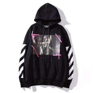 Off white madonna hoodie