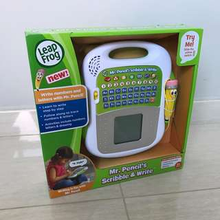 Free Delivery Brand New LeapFrog Mr. Pencil's Scribble & Write