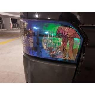 Neo Chrome Headlight Tinting