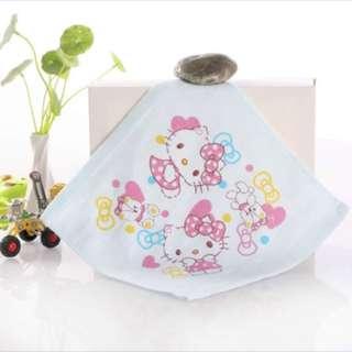 Double pure cotton gauze 100% pure  cotton handkerchief