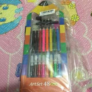 Crayon (Art set 48 piece- Original from Japan)