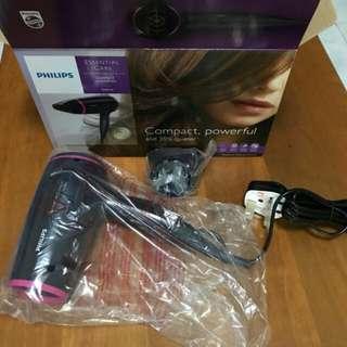 Brand new philips hair dryer 1600w.