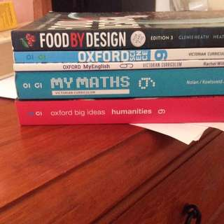 OXFORD + FOOD BY DESIGN BOOKS