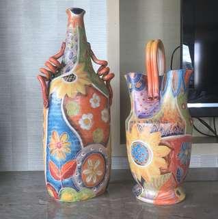 義大利購入裝飾花瓶