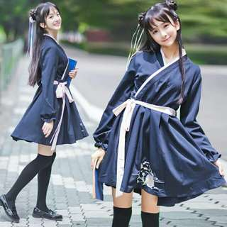 Japanese girl cosplay dress