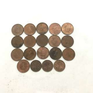 Old Coins - S$0.01