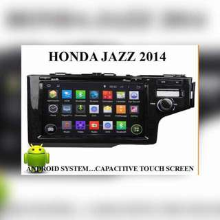 Honda Honda jazz 2014 android dvd player
