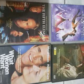 Assorted Dvd all in 11 pcs