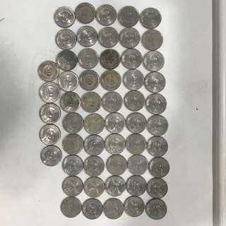 Old Coins - S$0.50