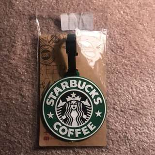 Starbucks Luggage Badge