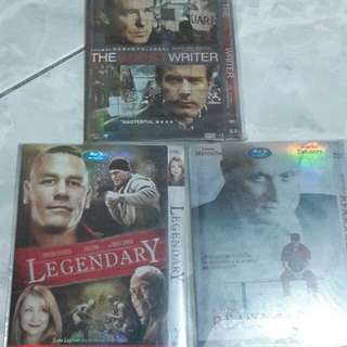 Assorted  dvd all in 6pcs