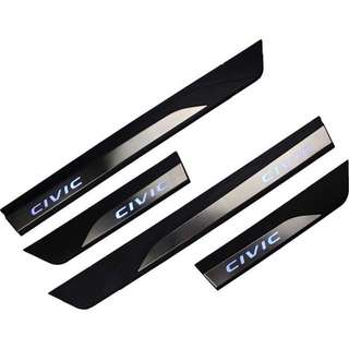 Honda Civic Side Steel Step W/Led