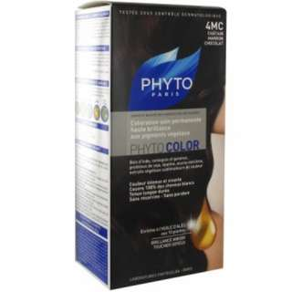 "PHYTO COLOR SHADE ""4 MC CHOCOLATE BROWN"""