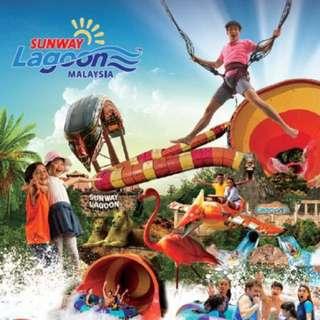 1Day Pass Sunway Lagoon Ticket Promo