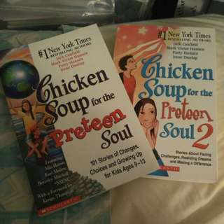 Chicken Soup for the Preteen Soul 1 & 2