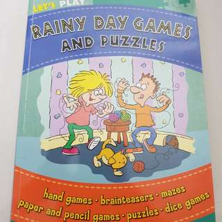 Rainy Day Games and Puzzles Activity book