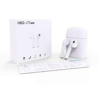 正品正貨HBQ i7S TWS 雙耳真無線藍芽耳機連充電盒 Wireless Bluetooth headphone V4.2 portable Mini headset charger box