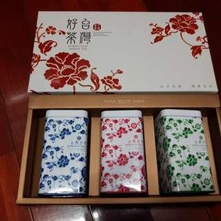 佳節嚴選!三合一頂級台灣茶葉禮盒
