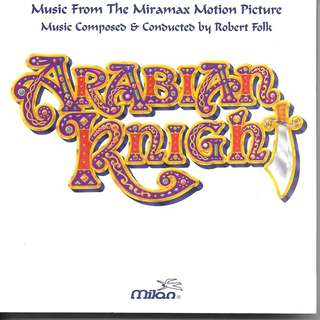 MY CD - ARABIAN KNIGHT - FREE DELIVERY BY SINGPOST