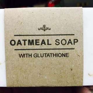 Oatmeal Soap with Glutathione