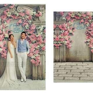 Wedding vinyl photography backdrop