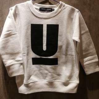 童裝undercover sweater 圓領內絨衛衣100%正品🇯🇵