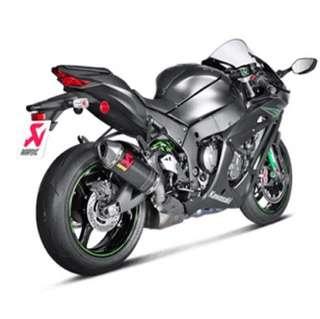 Kawasaki ZX10R Akrapovic Exhaust