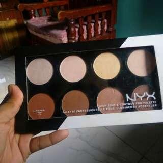 Nyx Highlights & Contour Pro Palette
