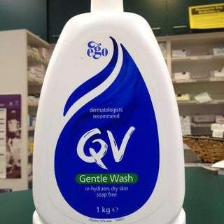 (Instock) Brand New QV gentle wash 1000ml