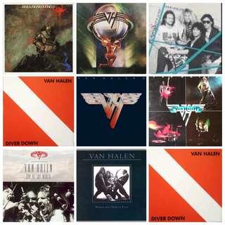Vg+ Van halen spot the odd one out record vinyl rock metal hard etc