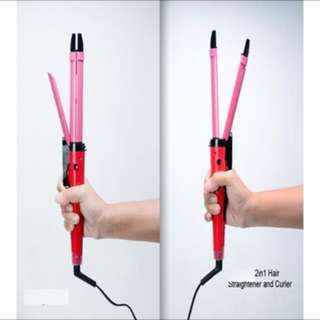 VINS 2 in 1 Hair Straightener & Curler Styling Iron