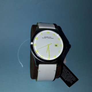 Marc By Marc Jacobs White Watch Original New