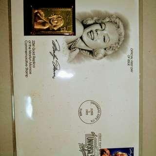瑪麗蓮夢露紀念郵票