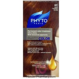 "PHYTO COLOR SHADE ""6C DARK COPPERY BLOND"""