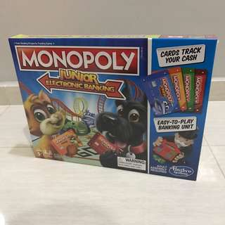 Free Delivery Brand New Monopoly Junior Electronic Banking