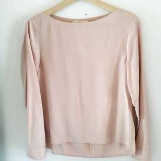 Uniqlo Long sleeves blouse