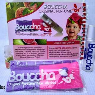 Bouccha original kids perfume non alcohol aroma Cheer Red Guava