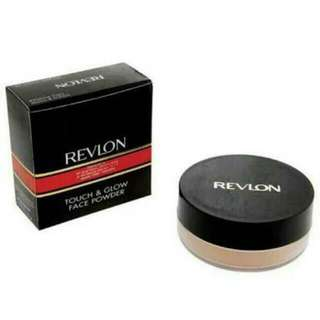 NEW!! Revlon touch and Glow extra moisturizing face powder24g
