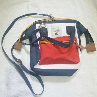 2 in 1 sling and backpack