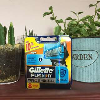 (Instock) Brand New Gillette Fushion Proshield Razor Cartridges Refill